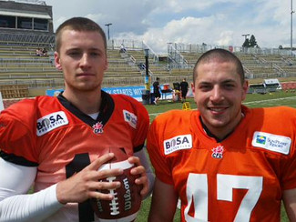 Deschamps and O'Connor invited to B.C. Lions camp
