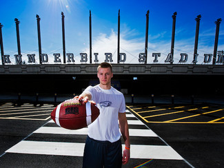 The Province - UBC welcomes its football future, blue-chip QB Michael O'Connor ready to don blue and