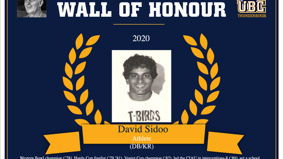 Frank Gnup Wall of Honour