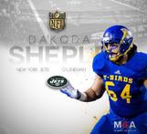 T-Bird Dakoda Shepley puts pen to paper with NFL's New York Jets