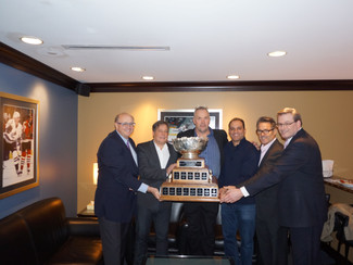 UBC Football honoured at Rogers Arena