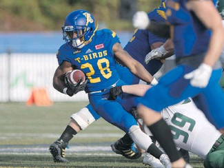 T-Birds trounce visiting Huskies in homecoming