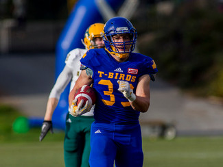 'Banger' Deschamps savours final days in blue-gold, leads UBC to huge rout of Golden Bears