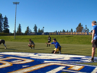 UBC football players show CFL, NFL scouts what they've got