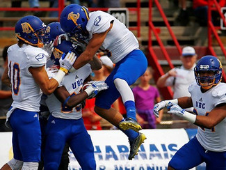UBC beats Laval in Blake Nill's debut with the Blue and Gold