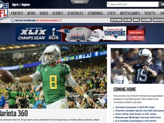 NFL.com - Coming Home