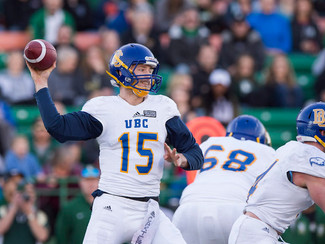Michael O'Connor: UBC's QB-1 on how his humbled 'Birds prep for redemption in 2017