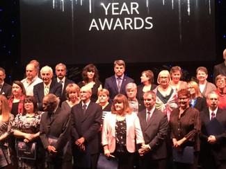 Mark Nykolaichuk wins the President's Award