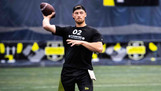 Argos select quarterback Michael O'Connor in third round