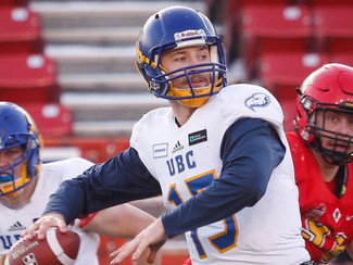 UBC QB O'Connor to be a person of interest for CFL, NFL this season