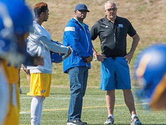 Over the Moon: CFL & NFL Great attends T-Bird practice