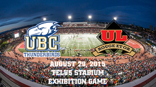 UBC will kickoff 2015 with an exhibition game at Laval