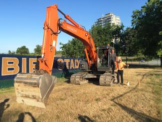 Nill & Sidoo break ground on new Football Academic Centre