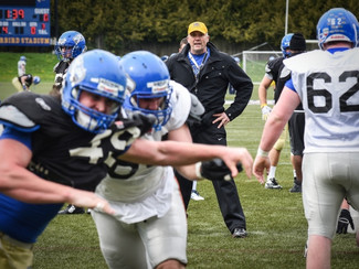 Vancouver Courier - At UBC, coach Nill wants to build 'Laval of the West'