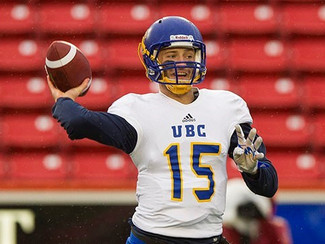 O'Connor's four TD passes power UBC to shootout victory