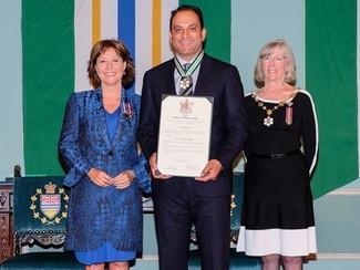 Order of BC bestowed upon Thunderbird football great David Sidoo