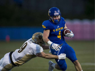 Cummings brings the rush back to UBC football, T-Birds top Bisons in quadruple OT