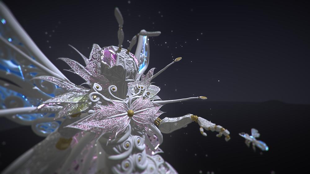 Solarpunk Queen Bee by JuliusProd