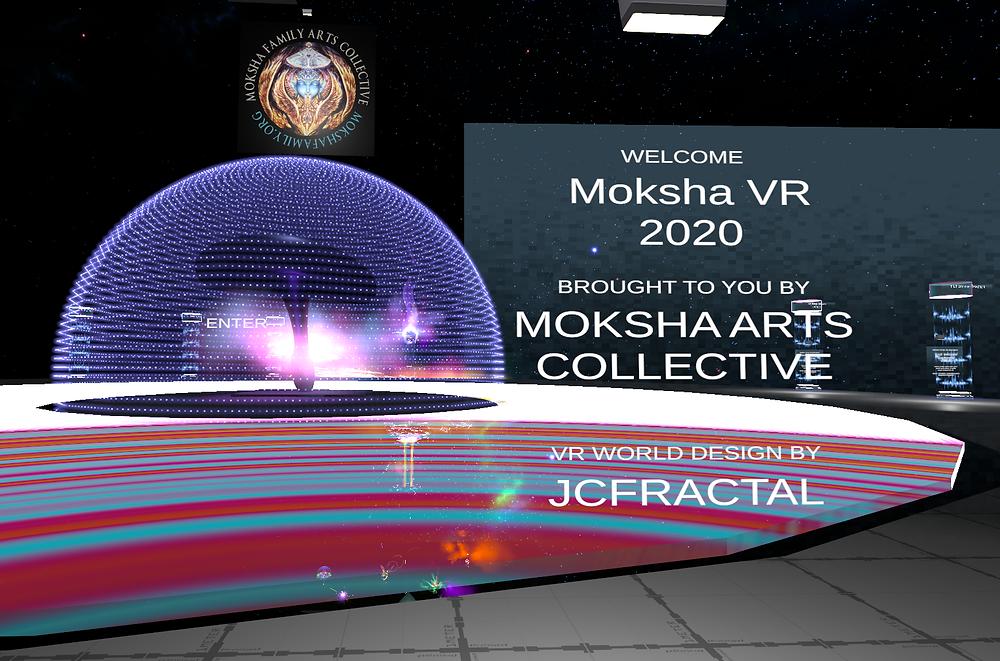 Moksha Arts Collective VRChat Gallery
