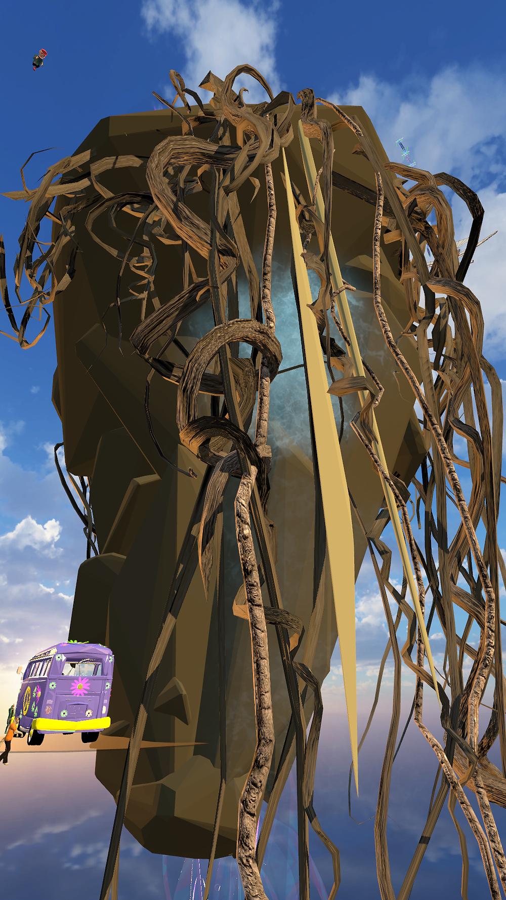 Main Gallery Island VR Chat by Zandy XR