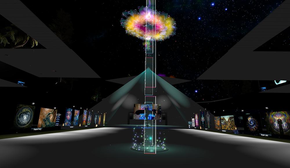 Moksha VR Gallery n VRChat by Moksha Arts Collective