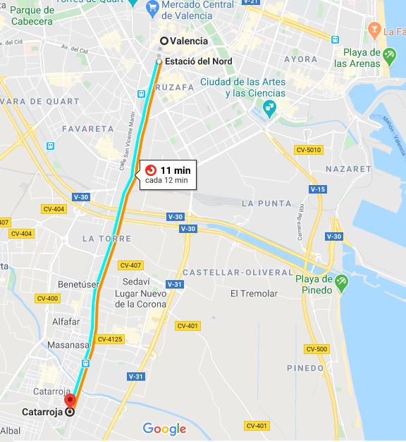 Mapa Llegar con tren de Valencia.png
