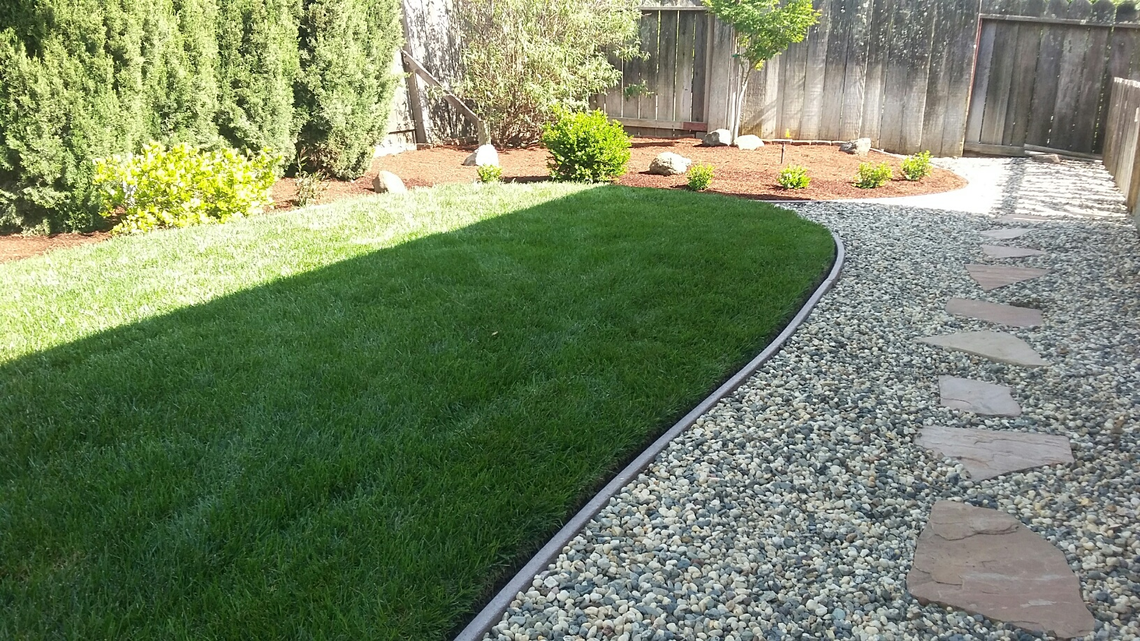 lawn areas