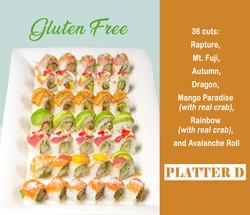 Gluten Free Platter