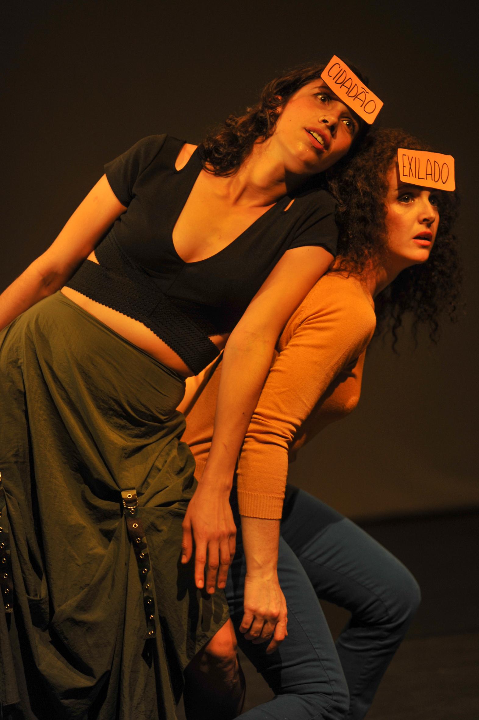 El lenguaje de lo sutil, de Alicia Sánchez. Festival Quinzena de Dança de Almada,PORTUGAL1