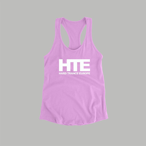HTE Ladies Vest (Baby Pink) )