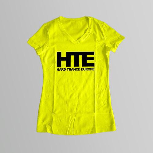 HTE Ladies T-Shirt (Yellow)