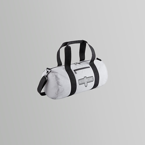 Underground Sounds Reflective Barrel Bag