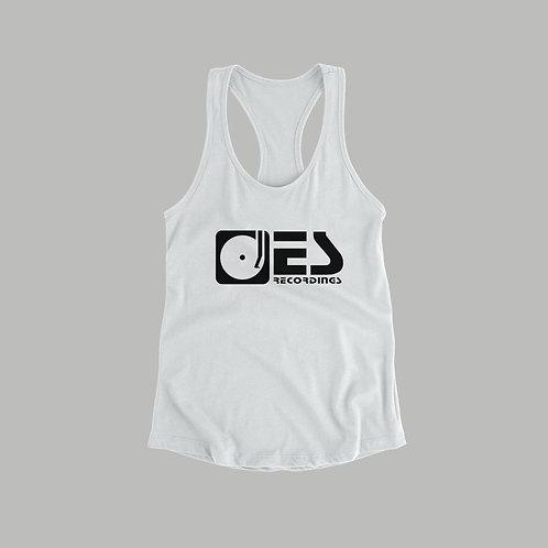 Electrik Shandy Recordings Ladies Vest (Black/White)