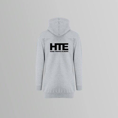 HTE Ladies Hoodie Dress (Front/Back Print) (Various Colours)