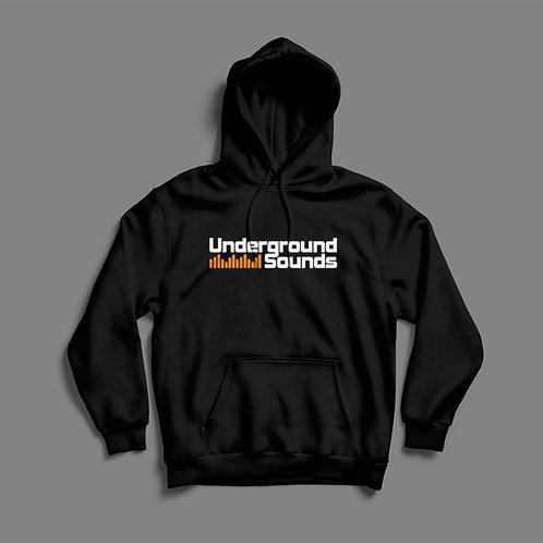 Underground Sounds Graphic Hoodie (Black/White)