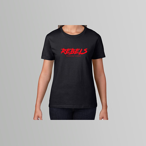 Rebels Productions Ladies T-Shirt
