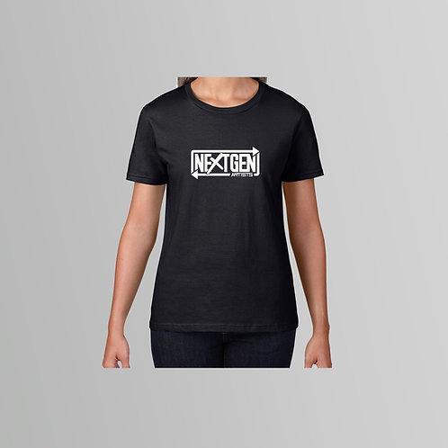 NextGen Artists Ladies T-Shirt  (Various Colours)