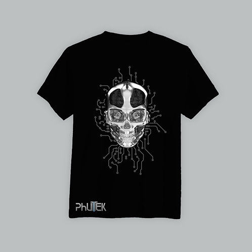 Phutek Skull T-Shirt Body Logo (Various Colours)