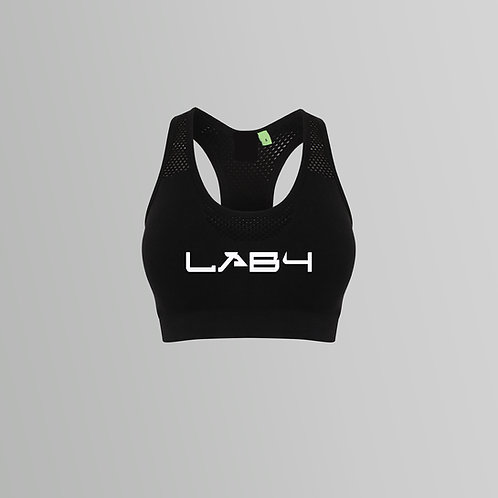 Lab4 Ladies Racer Crop Top (Various Colours)
