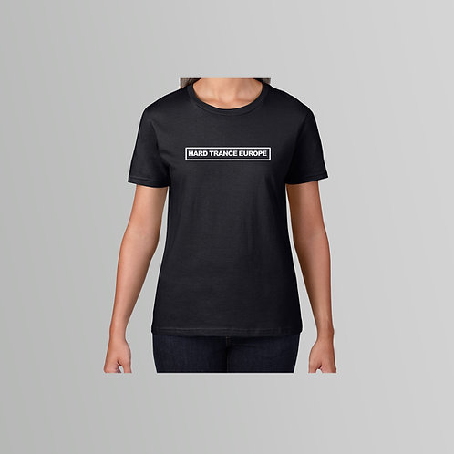 HTE Ladies TXT T-Shirt (Black)