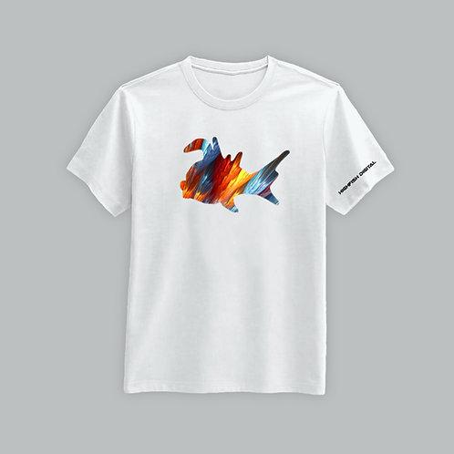 High Fish Recordings Elite T-Shirt (Black/White)