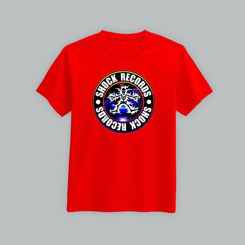 Shock Records T-Shirt Colour Logo (Various Colours)