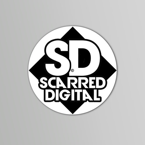 Scarred Digital Slipmatts  Black/White (PAIR)