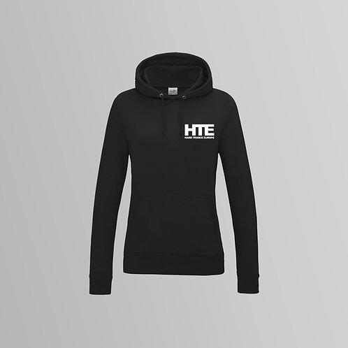 HTE Ladies Hoodie  (Black)