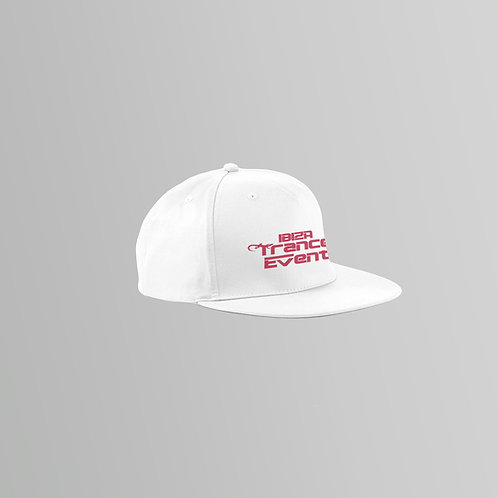Ibiza Trance Event Snapback Cap (White)