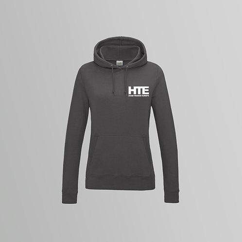 HTE Ladies Hoodie  (Grey)