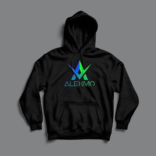 AlexMo Coloured Logo Hoodie (Various Colours)
