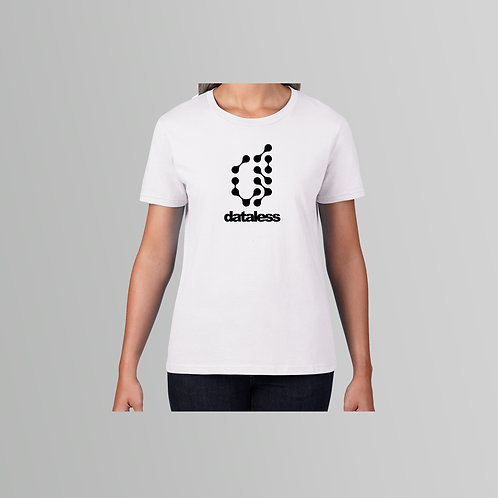 Dataless Recordings Ladies T-Shirt