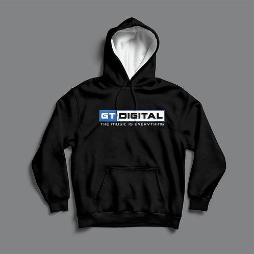 GT Digital Hoodie (Black/White)