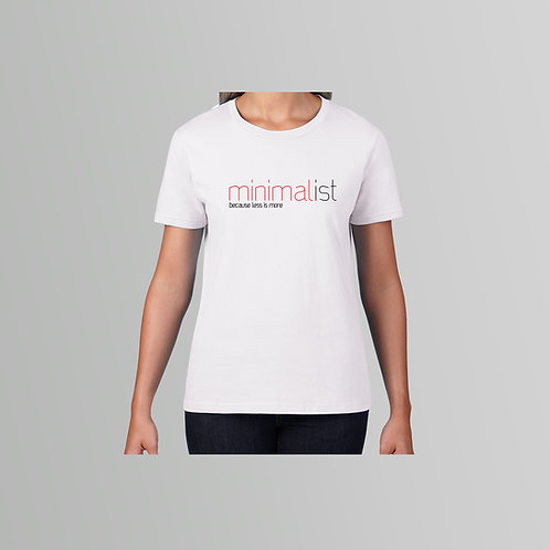 Definitions Ltd Edition Minimalist T-Shirt (Black/White)